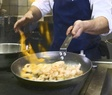 PS carbon steel pan in action