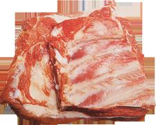 Pork - revben tjocka