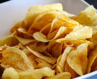 Salty crisps PS