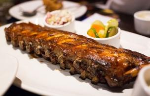 bbq grill tender ribs PS