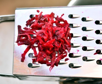 shredded beetroot PS