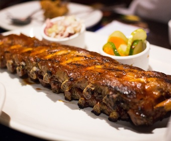 bbq grill tender ribs PS