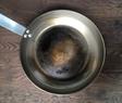 Carbon steel pan after seasoning PS
