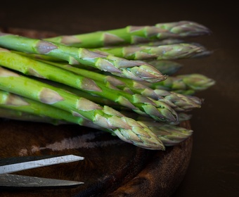 Green asparagus PS