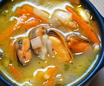 Cooking fish stock PS