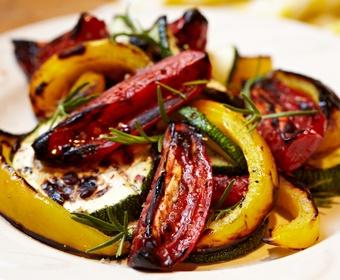 grilled greens vegetables PS