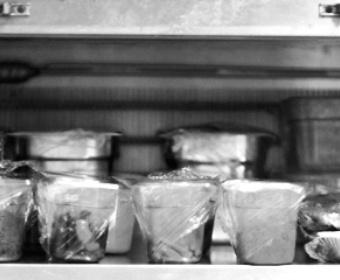 food in pro kitchen