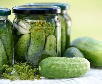 Pickled gherkins PS
