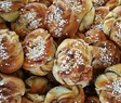 Swedish cinnamon rolls buns fika